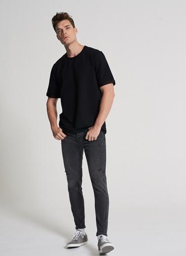 Pi π Oversize Tişört Siyah